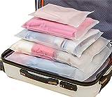 Sistema di Cubo di Viaggio 12 Impermeabile Trasparente Organizzatori di Viaggio Bagagli Beauty Case Organizzatore Perfect per...
